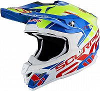 Scorpion VX-15 Evo Air Argo, cross helmet