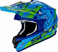 Scorpion VX-15 Evo Air Kistune, cross helmet