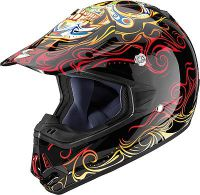 Scorpion VX-17 Calavera, cross helmet
