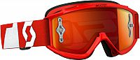 Scott 89Si Pro S16, Works Oxide Series goggles chrome kids