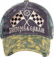 King Kerosin Kustoms And Garage, cap