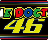 VR46 Racing Apparel Classic The Doctor, mouse pad