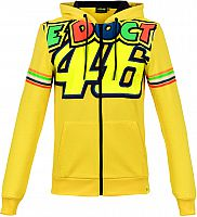 VR46 Racing Apparel Classic Stripes, zip hoodie