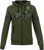 VR46 Racing Apparel Monster Dual Camp, zip hoodie