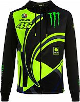 VR46 Racing Apparel Monster Dual Replica, zip hoodie