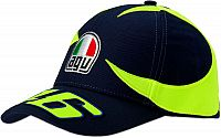 VR46 Racing Apparel Sole E Luna Replica, cap kids