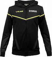 VR46 Racing Apparel Yamaha Dual Black Edition, zip hoodie