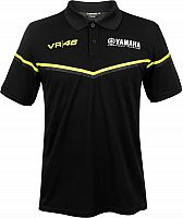 VR46 Racing Apparel Yamaha Dual Black Edition, polo shirt