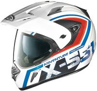 X-Lite X-551 GT Adventure, Endurohelm