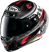 X-Lite X-803 RS Ultra Carbon SBK, integral helmet