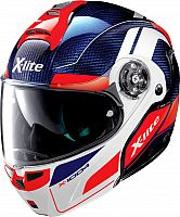 X-Lite X-1004 Charismatic N-Com Carbon, flip up helmet