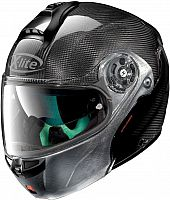 X-Lite X-1004 Ultra Dyad Scratched Chrome, flip up helmet