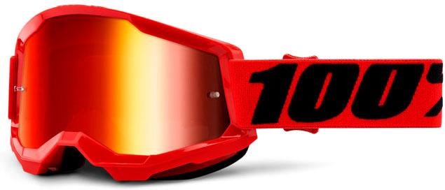 100 Percent Strata 2 S21, Crossbrille verspiegelt - Blau/Weiß Blau/Verspiegelt 469-062-50421-25002