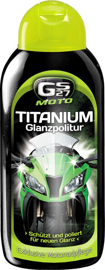 GS27 Moto Titanium Glanzpolitur, Pflegeset - 400 ml 271441