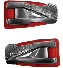 Acerbis X-Move 2.0, Ersatzschnallen - Rot 0017738.110