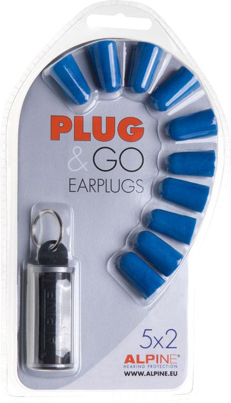 Alpine Plug&Go, Gehörschutz - Blau 992242