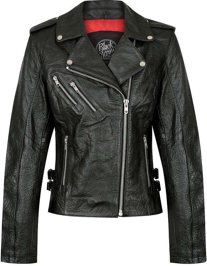 Black Arrow Gypsy, Lederjacke Damen - Schwarz - XL 172101XL