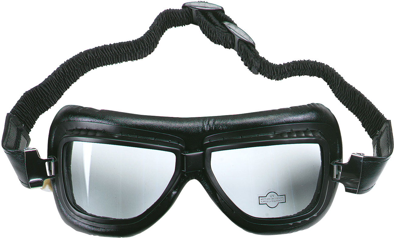 Booster Flying Tiger, Motorradbrille - Schwarz 198-2003-101