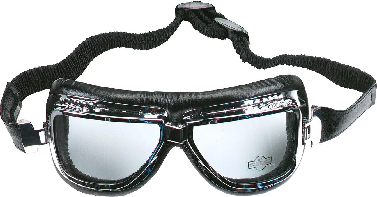 Booster Flying Tiger, Motorradbrille - Silber 198-2003-180