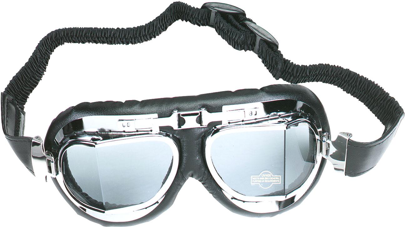 Booster Mark 4, Motorradbrille - Silber 198.2004.180