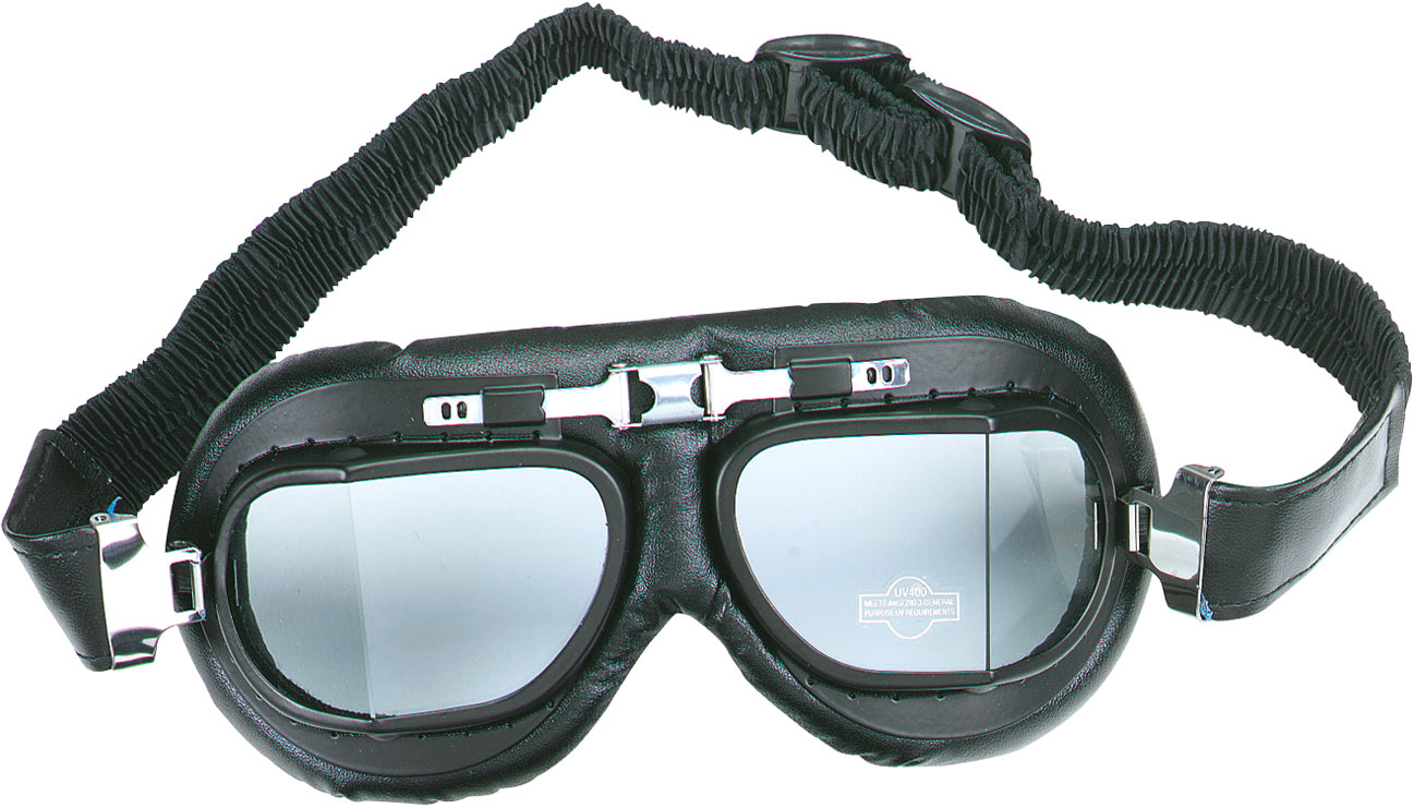 Booster Mark 4, Motorradbrille - Schwarz 198-2004-101