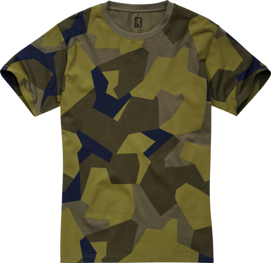 Brandit 4200, T-Shirt - Swedisch Camo M90 - XL 4200-125-XL