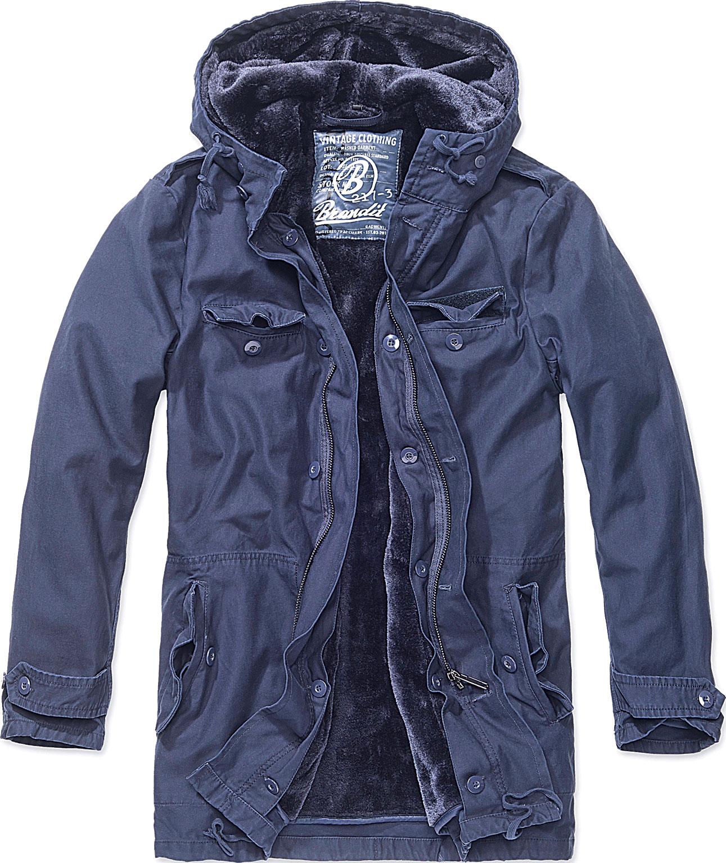 Brandit BW Parka, Textiljacke - Dunkelblau - S 3137-8-S