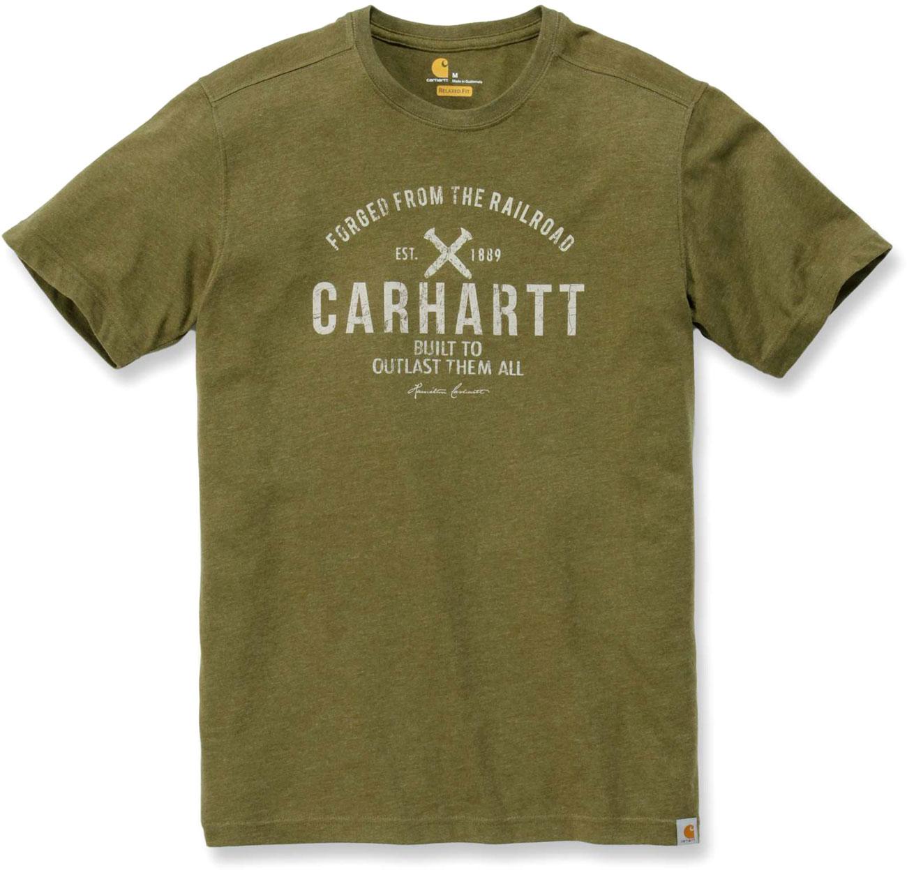 Carhartt Emea Outlast, T-Shirt - Grün/Weiß - XL .103658.397.S007