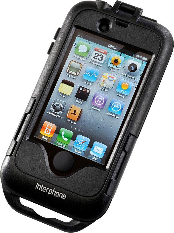 Cellularline SM für iPhone 4, Rohrlenker - Schwarz HI-SMIPHONE4