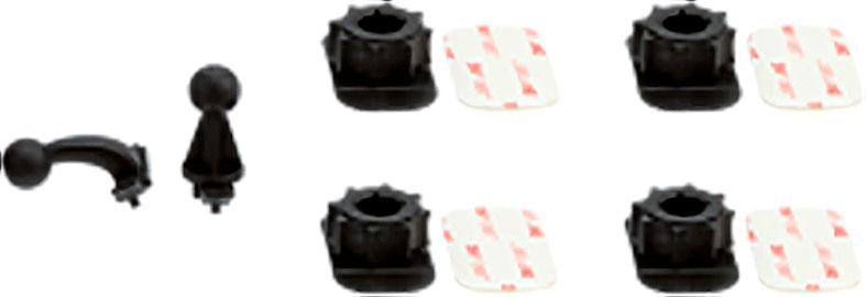 Cellularline Motion Kamera, Ersatzteilset - Schwarz HI-MOTIONCAMSP
