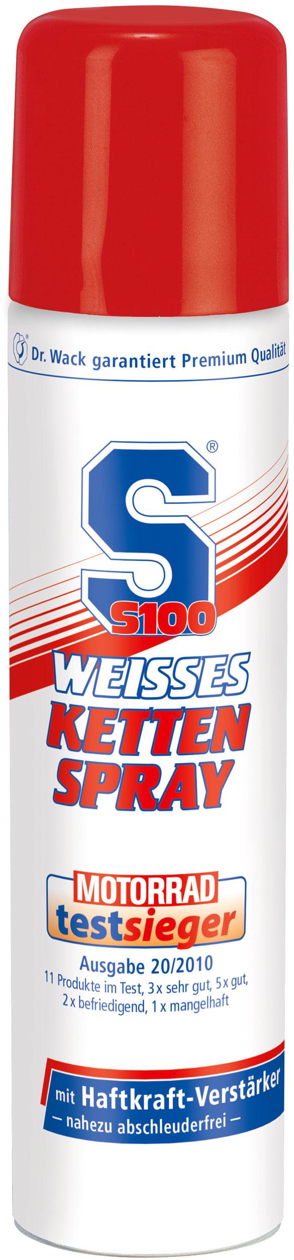 Dr OK Wack S100, weisses Kettenspray - 75 ml 2358