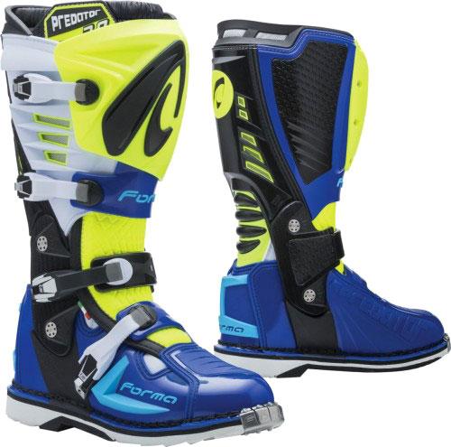 Forma Predator 2.0, Stiefel - Neon-Gelb/Weiß/Blau - 46 EU 510125GB46