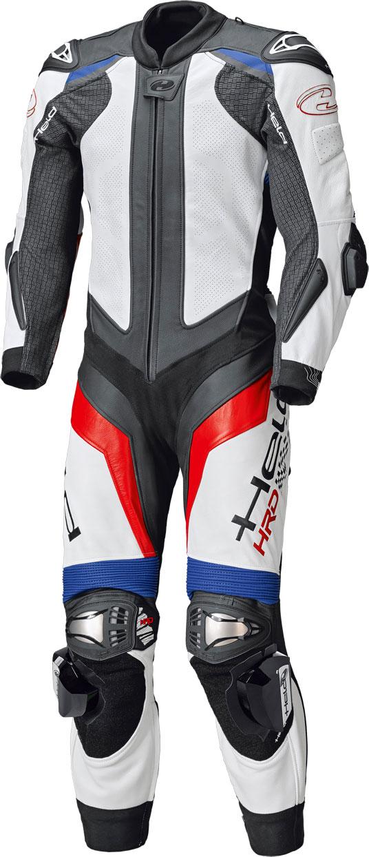 Held Race-Evo 2, Lederkombi 1tlg. - Blau/Rot/Weiß - 56 051910-00-042-56