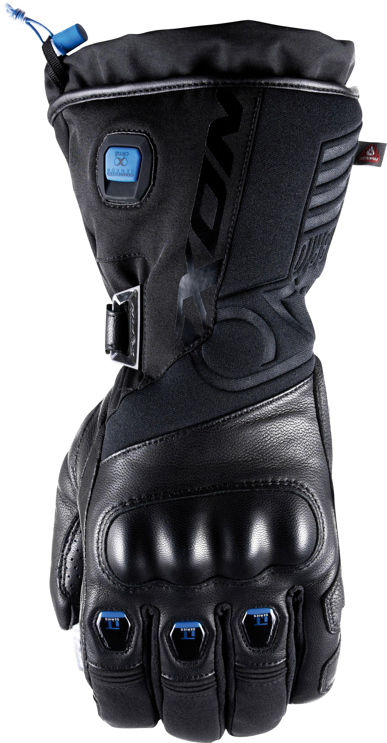 Ixon IT-Aso Evo, Handschuhe beheizt - Schwarz/Blau - L 21330102