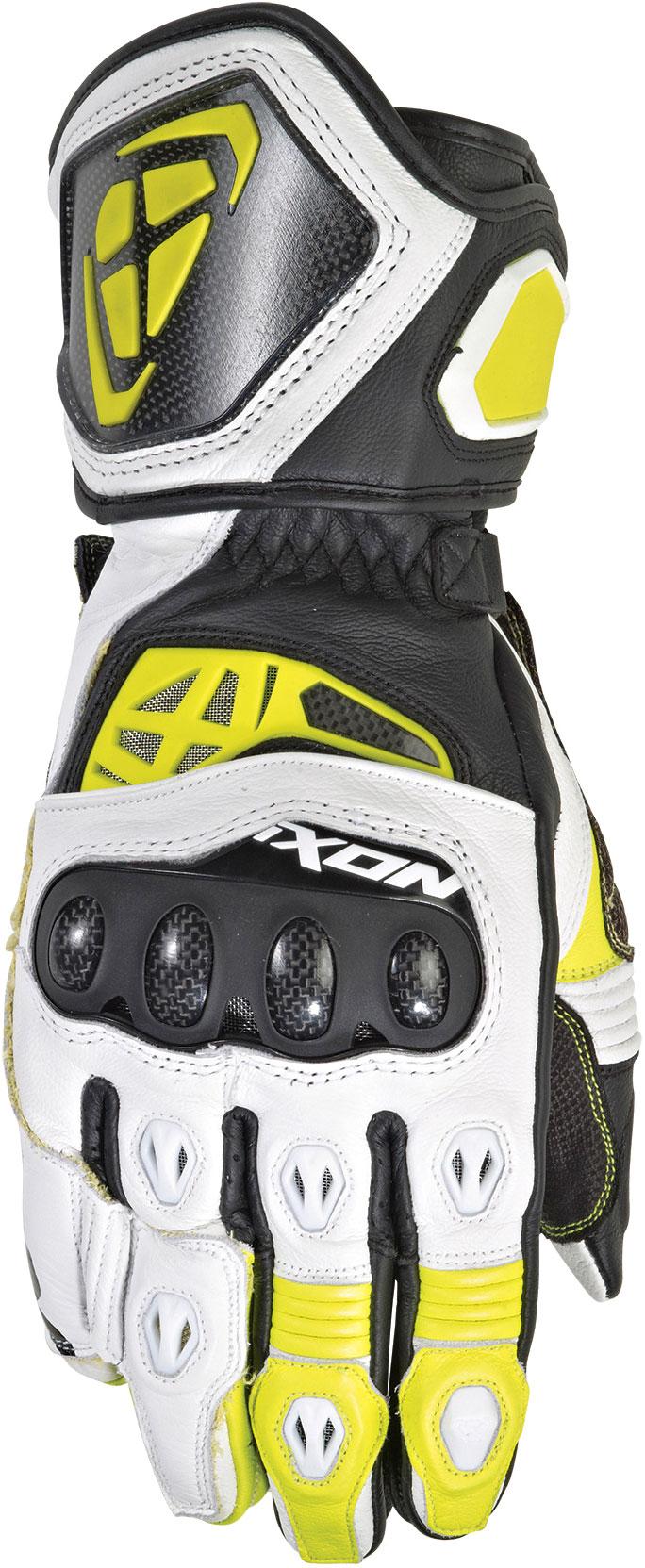 Ixon RS Genius Replica, Handschuhe - Schwarz/Weiß/Neon-Gelb - XL 31248003