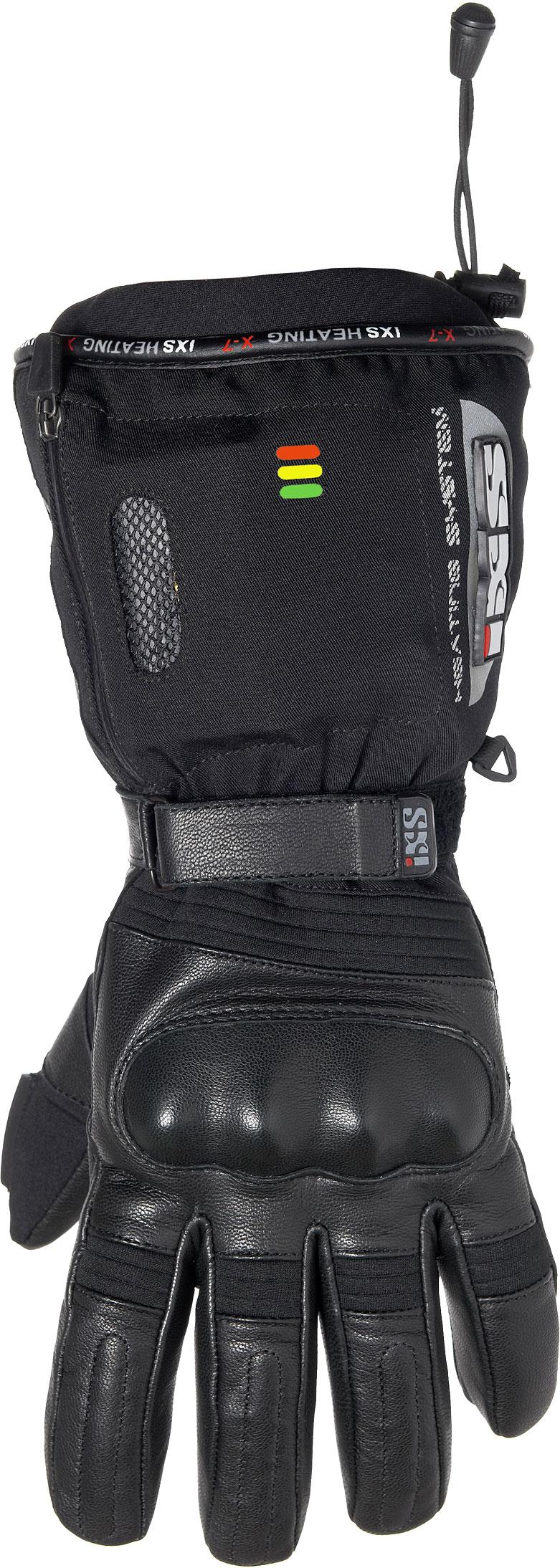 IXS X-7, Handschuhe beheizt - Schwarz - 3XL X42703-003-3XL