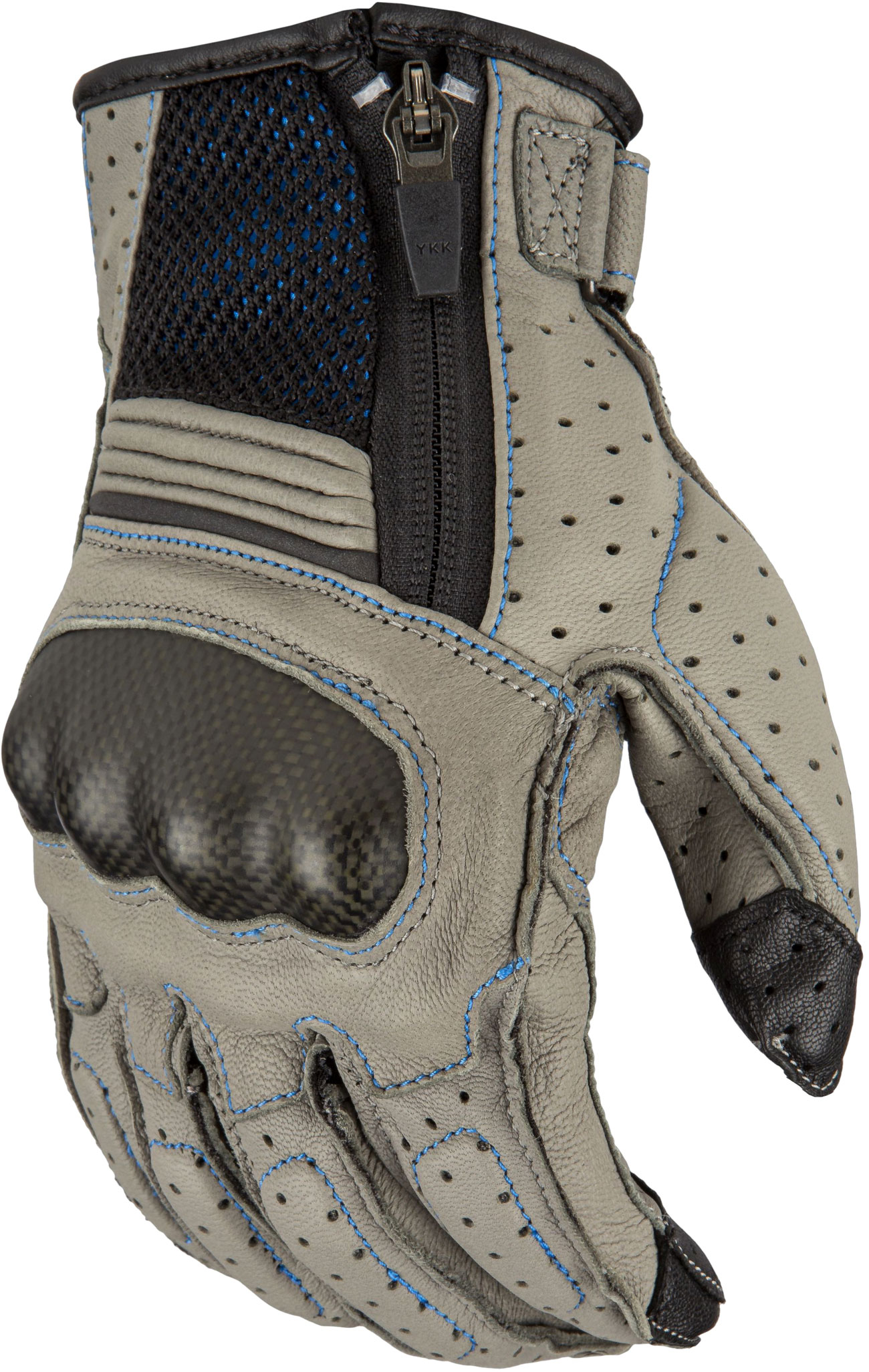 Klim Induction S20, Handschuhe - Grau/Blau - S 5028-001-120-601