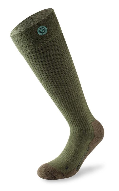 Lenz 4.0 Toe Cap, Socken beheizbar - Grün - 42 EU - 44 EU 105523