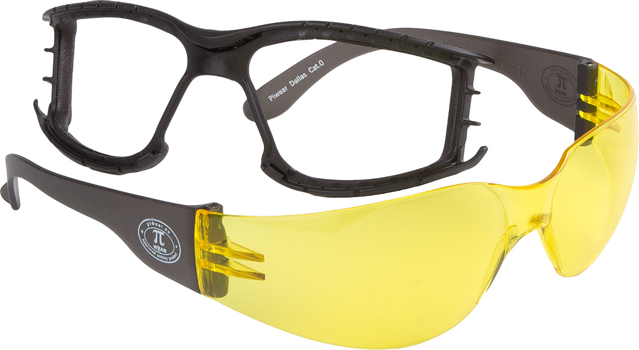 Modeka Dallas Plus, Brille - Neon-Gelb 115833-984-Stck