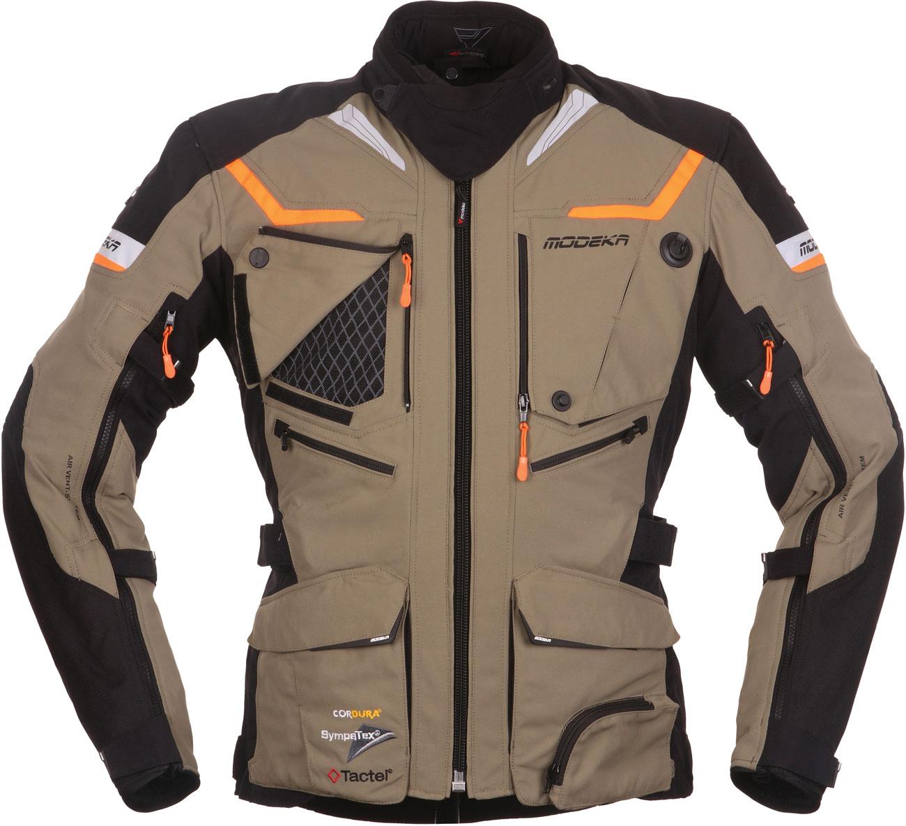 Modeka Panamericana, Textiljacke - Beige - 5XL 084560-22-5XL
