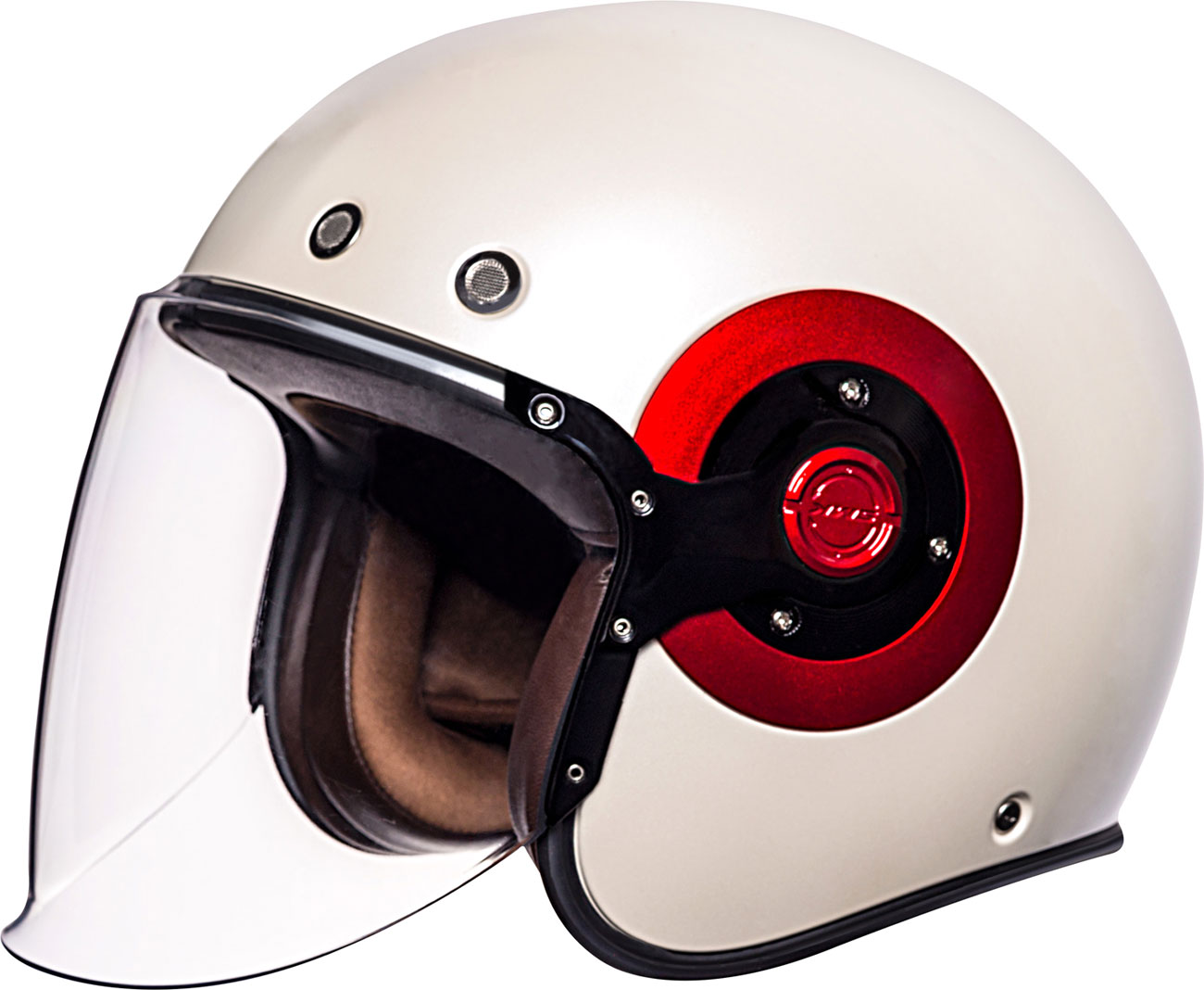SMK Eldorado, Jethelm - Weiß/Rot - L 132.3009.L.230
