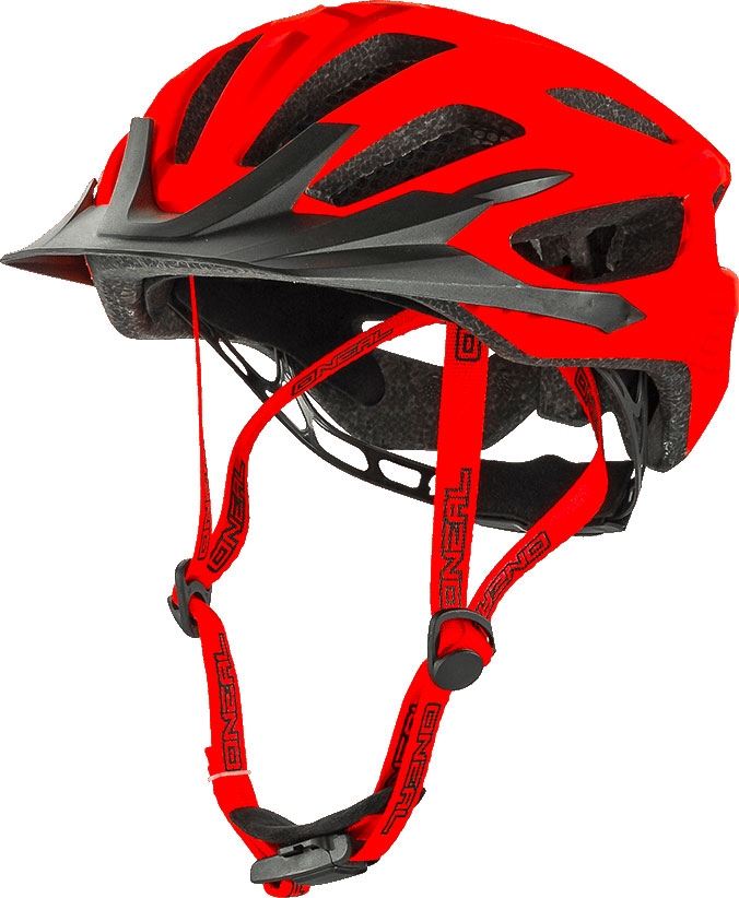 ONeal Q S16, Fahrradhelm - Matt-Rot - L/XL 0504-102