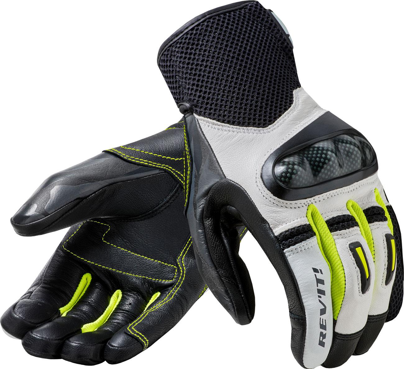 Revit Prime, Handschuhe - Weiß/Gelb - L FGS150-3060-L