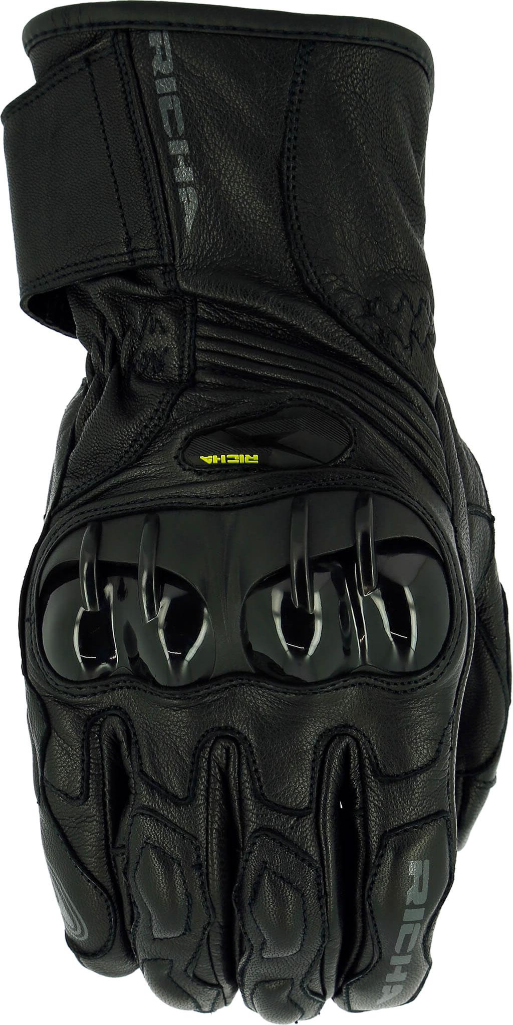 Richa Hawk, Handschuhe - Schwarz - M 5HAW-100-M