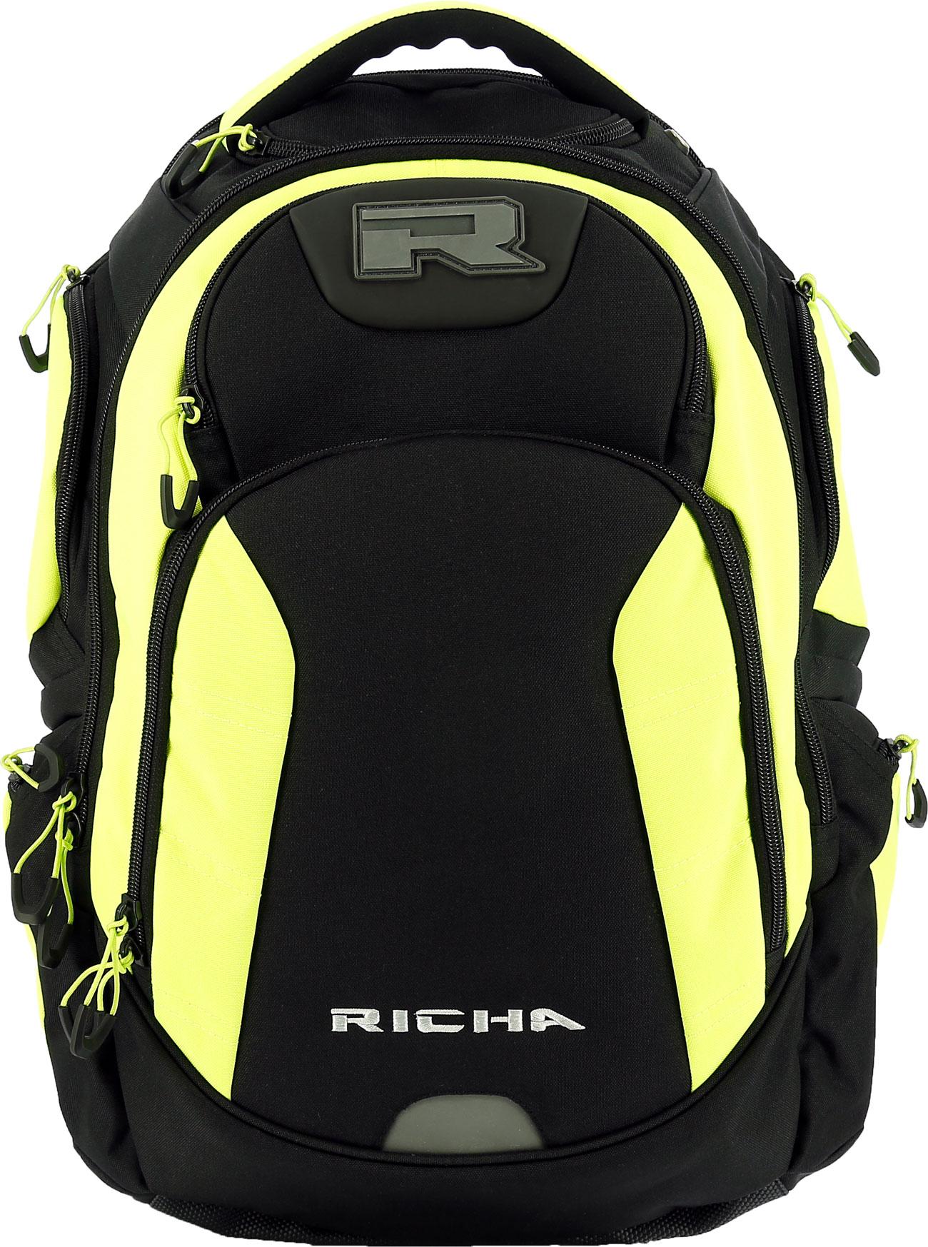 Richa Krypton, Rucksack - Schwarz/Neon-Gelb 8KRY-650-QTY