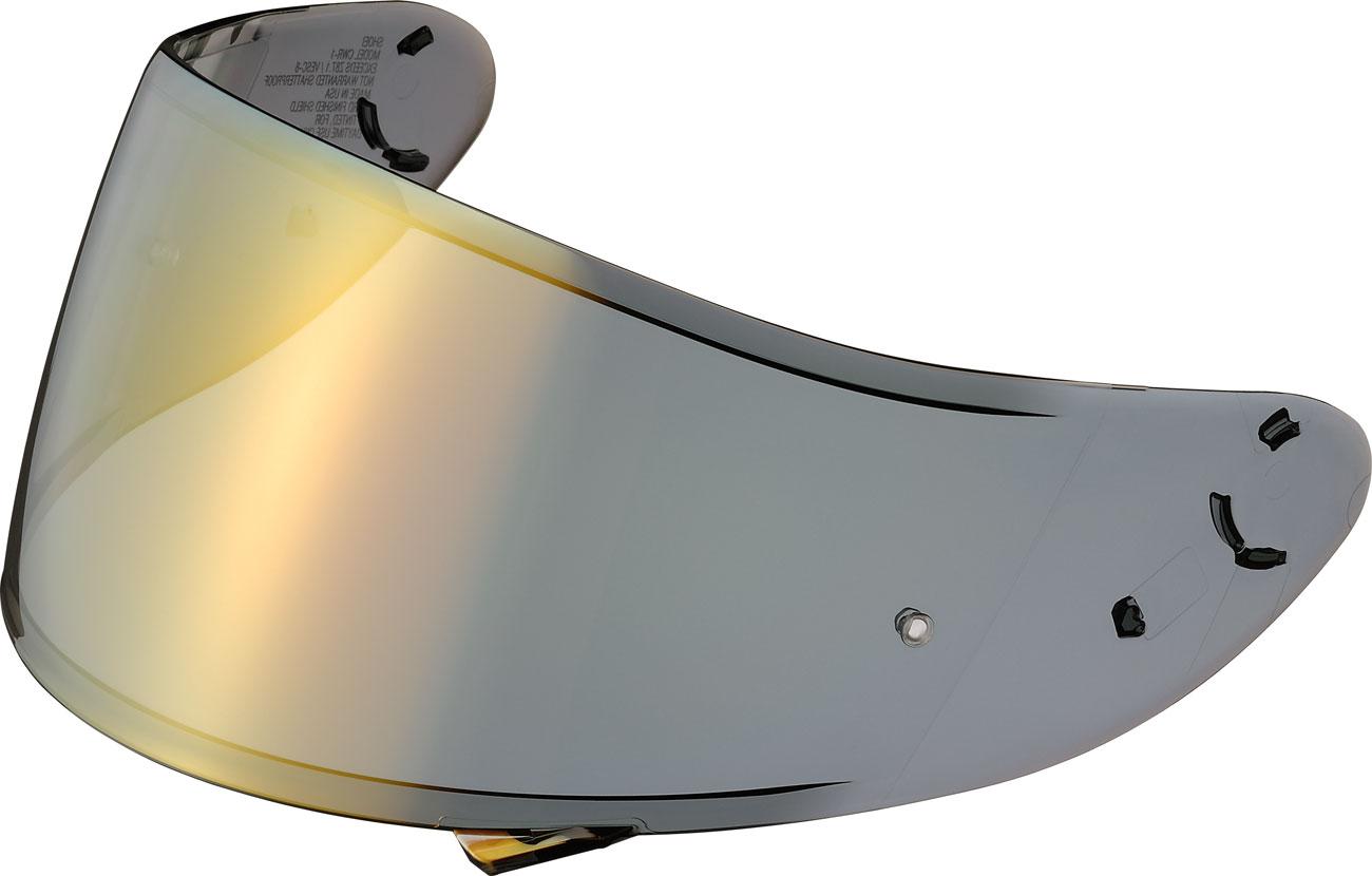 Shoei CWR-1, Visier verspiegelt - Gold-Verspiegelt 17.20.006.1