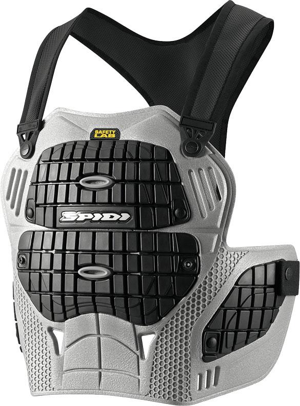 Spidi Thorax Warrior Z157, Brustprotektor - Grau/Schwarz - Einheitsgröße Z157-083-O/S