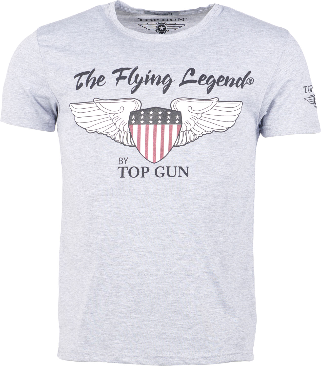 Top Gun Gamestop, T-Shirt - Grau - XL 310-TG2019-1030-1535-XL