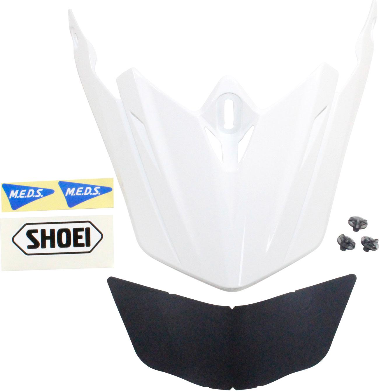 Shoei VFX-WR, Helmschirm lackierbar - Weiß 18.04.261.0