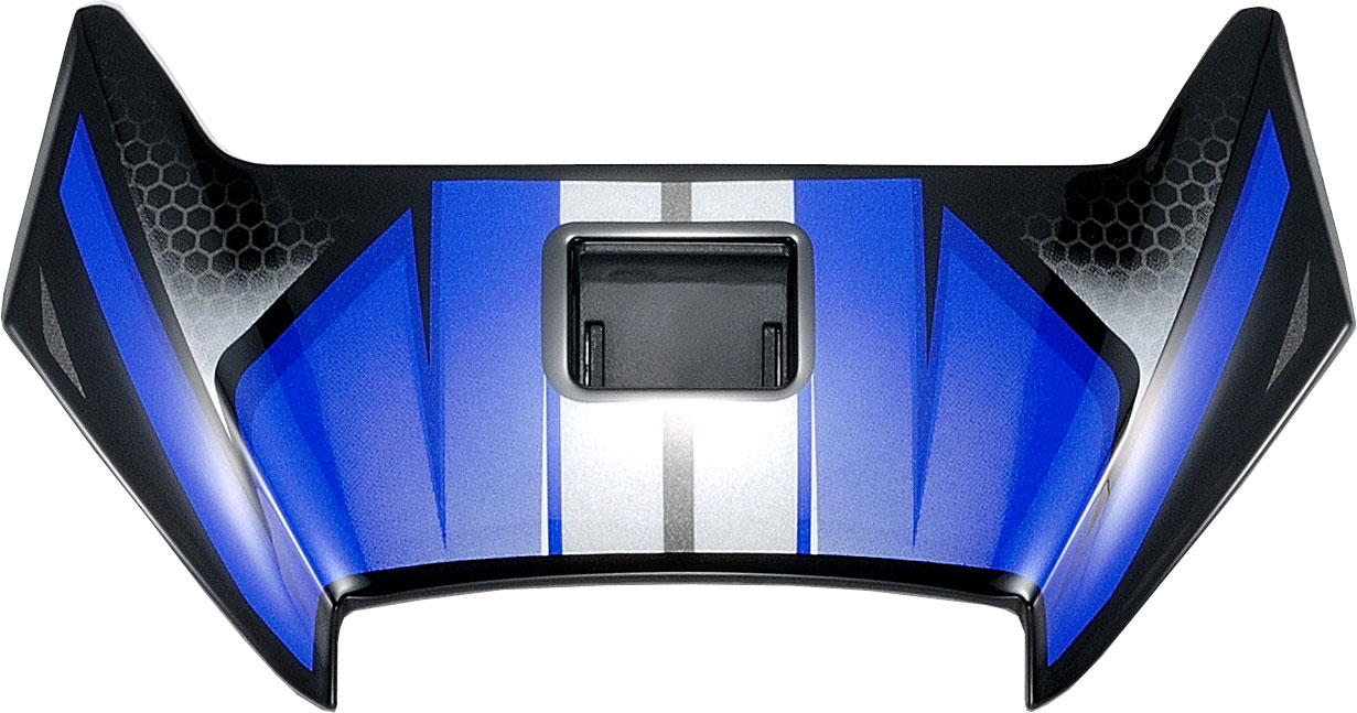Shoei X-Spirit III Aerodyne, Lüftungsschieber - Blau/Schwarz/Grau 18.08.448.0
